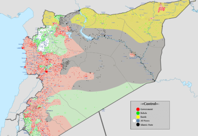 20.1.2017 - Syrien: Widerstand gegen IS und Assad-Regime
